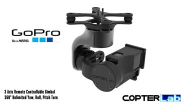 3 Axis GoPro Hero 5 Micro Gimbal