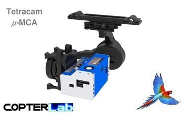 2 Axis Tetracam Micro MCA NDVI Gimbal