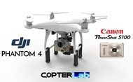 2 Axis Canon Powershot S100 Gimbal for DJI Phantom 4 Pro v2