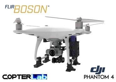 2 Axis Flir Boson Micro Gimbal for DJI Phantom 4 Pro v2