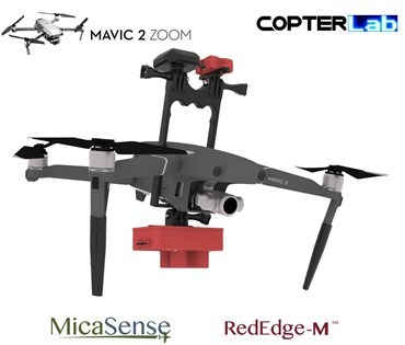 Micasense RedEdge M NDVI Integration Mount Kit for DJI Mavic 2 Zoom
