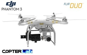 1 Single Pitch Axis Flir Duo Micro Gimbal for DJI Phantom 3 Advanced