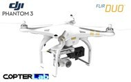 2 Axis Flir Duo R Micro Gimbal for DJI Phantom 3 Advanced