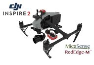 2 Axis Micasense RedEdge M Micro NDVI Gimbal for DJI Inspire 2