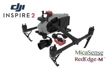 2 Axis Micasense RedEdge M Micro NDVI Gimbal for DJI Inspire 2