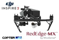 2 Axis Micasense RedEdge MX Micro NDVI Gimbal for DJI Inspire 2