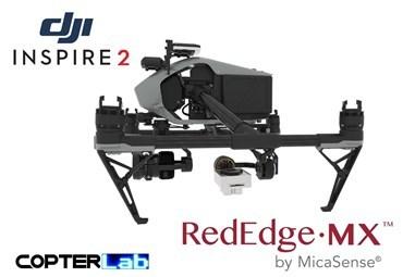2 Axis Micasense RedEdge MX Micro NDVI Gimbal for DJI Inspire 2