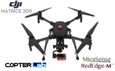 2 Axis Micasense RedEdge-M Micro NDVI Skyport Gimbal for DJI Matrice 200 M200