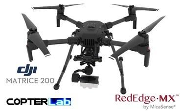 2 Axis Micasense RedEdge-MX Micro NDVI Skyport Gimbal for DJI Matrice 200 M200