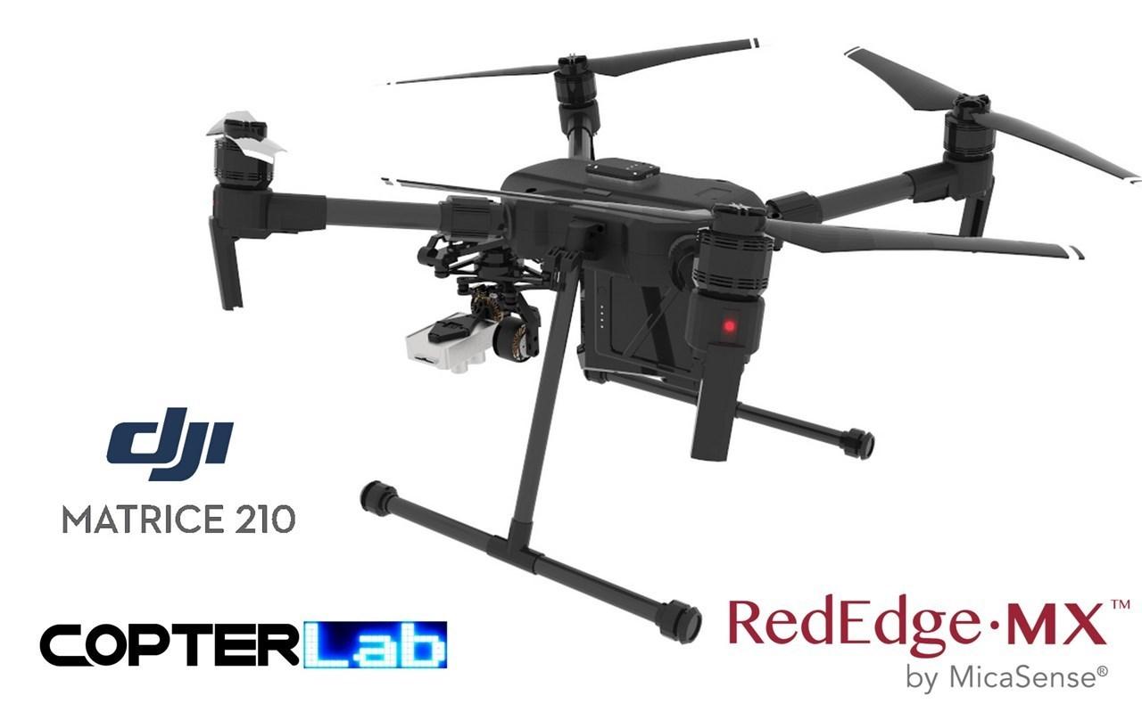 2 Axis Micasense RedEdge-MX NDVI Skyport Gimbal for DJI Matrice 210 M210