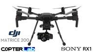 2 Axis Sony RX1 Micro Skyport Gimbal for DJI Matrice 200 M200