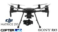 2 Axis Sony RX1 Micro Skyport Gimbal for DJI Matrice 210 M210