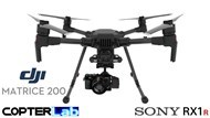 2 Axis Sony RX 1 R RX1R Micro Skyport Gimbal for DJI Matrice 200 M200
