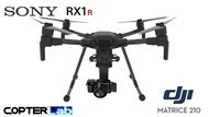 3 Axis Sony RX 1 R RX1R Micro Skyport Gimbal for DJI Matrice 210 M210
