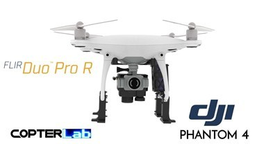 Flir Duo Pro R Integration Mount Kit for DJI Phantom 4  Pro v2
