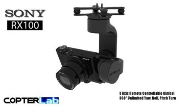3 Axis Sony RX 100 RX100 Gimbal