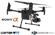 2 Axis Sony Alpha 6100 A6100 Micro Skyport Gimbal for DJI Matrice 200 M200