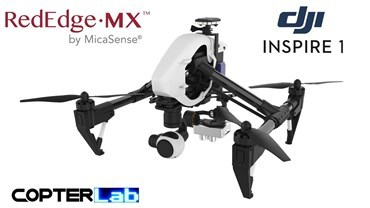 2 Axis Micasense RedEdge MX Micro NDVI Gimbal for DJI Inspire 1