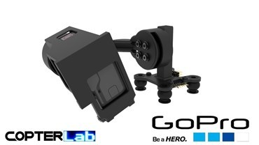 2 Axis GoPro Hero 6 Top Mounted Micro FPV Gimbal