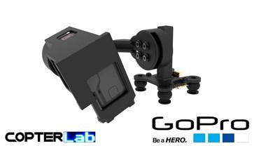 2 Axis GoPro Hero 8 Top Mounted Micro FPV Gimbal
