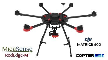 2 Axis Micasense RedEdge M Micro NDVI Gimbal for DJI Matrice 600 M600 pro