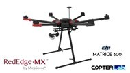 2 Axis Micasense RedEdge MX Micro NDVI Gimbal for DJI Matrice 600 M600 pro