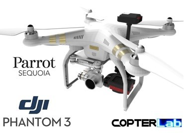 Parrot Sequoia+ NDVI Integration Mount Kit for DJI Phantom 3 Standard