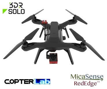 2 Axis Micasense RedEdge RE3 Micro NDVI Gimbal for 3DR Solo