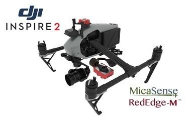2 Axis Micasense RedEdge 3 Micro NDVI Gimbal for DJI Inspire 2