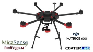 2 Axis Micasense RedEdge RE3 Micro NDVI Gimbal for DJI Matrice 600 M600 pro