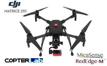 2 Axis Micasense RedEdge RE3 NDVI Skyport Gimbal for DJI Matrice 210 M210
