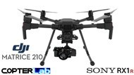 2 Axis Sony RX 1 R2 RX1R2 Micro Skyport Gimbal for DJI Matrice 210 M210