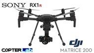 3 Axis Sony RX 1 R2 RX1R2 Micro Skyport Gimbal for DJI Matrice 200 M200