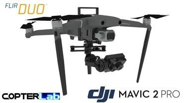 2 Axis Flir Duo R Nano Gimbal for DJI Mavic Air 2