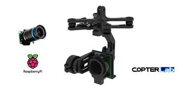 2 Axis Raspberry Pi High Quality HQ Camera Micro Gimbal