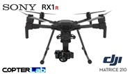 3 Axis Sony RX 1 R2 RX1R2 Micro Skyport Gimbal for DJI Matrice 300 M300