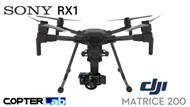 3 Axis Sony RX 1 RX1 Micro Skyport Gimbal for DJI Matrice 300 M300