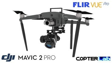 2 Axis Flir Vue Pro Nano Gimbal for DJI Mavic 2 Zoom