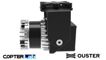 1 Axis Ouster OS0 Lidar Gimbal