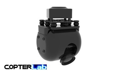 1 Axis 30x FullHD Zoom Dome Camera Gimbal