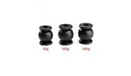 4PCS Anti-vibration Rubber Shock Absorber Ball 60g/100g/600g