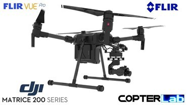 3 Axis Flir Vue Pro Micro Skyport Gimbal for DJI Matrice 200 M200