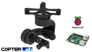 3 Axis Raspberry Pi PiCamera V1 Camera Micro Gimbal