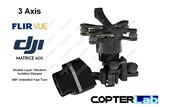 3 Axis Flir Vue Pro R Micro Gimbal for DJI Matrice 600 M600 pro