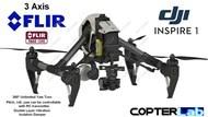 3 Axis Flir Tau 2 Micro Gimbal for DJI Inspire 1